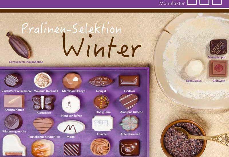 Spiegel Pralinen - Winter Sortiment